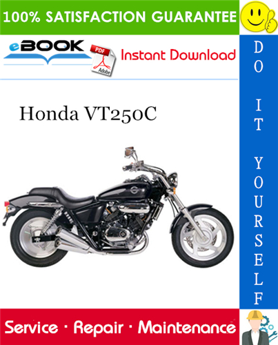 Honda Vt250c Motorcycle Service Repair Manual