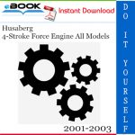 Husaberg 4-Stroke Force Engine All Models Service Repair Manual