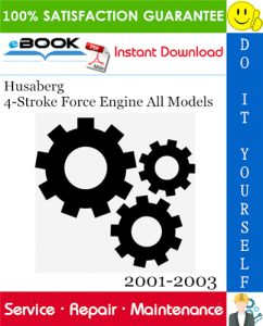 Husaberg 4-Stroke Force Engine All Models Service Repair Manual