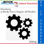 2004 Husaberg 4-Stroke Force Engine All Models Service Repair Manual