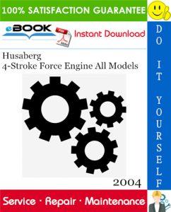 2004 Husaberg 4-Stroke Force Engine All Models Service Repair Manual