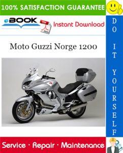 Moto Guzzi Norge 1200 Motorcycle Service Repair Manual
