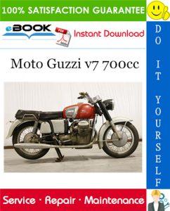 Moto Guzzi v7 700cc Motorcycle Service Repair Manual