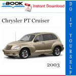 2003 Chrysler PT Cruiser Service Repair Manual
