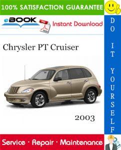 2003 Chrysler PT Cruiser Service Repair Manual