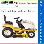 Cub Cadet 3000 Series Tractor Service Repair Manual