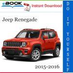 Jeep Renegade Service Repair Manual