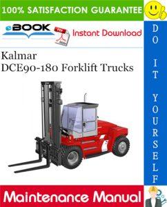 Kalmar DCE90-180 Forklift Trucks Maintenance Manual