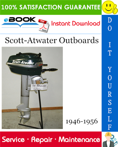 Scott-Atwater Outboards Service Repair Manual