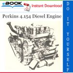 Perkins 4.154 Diesel Engine Service Repair Manual