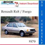 1979 Renault R18 / Fuego Service Repair Manual