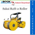 Sakai R2H-2 Roller Service Repair Manual