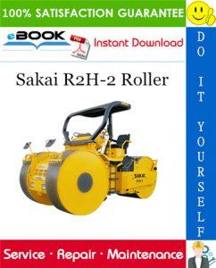 Sakai R2H-2 Roller Service Repair Manual