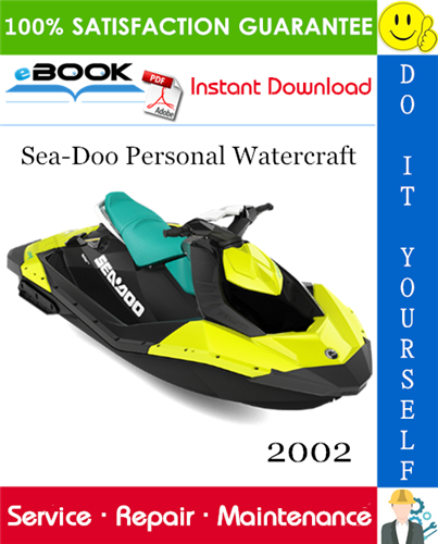 2002 Sea-Doo Personal Watercraft Service Repair Manual