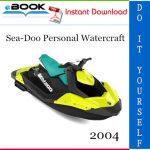 2004 Sea-Doo Personal Watercraft Service Repair Manual