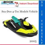 2005 Sea-Doo 4-Tec Models Vehicle Service Repair Manual