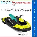 Sea-Doo 4-Tec Series Watercraft Service Repair Manual