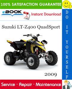 2009 Suzuki LT-Z400 QuadSport ATV Service Repair Manual