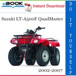 Suzuki LT-A500F QuadMaster ATV Service Repair Manual