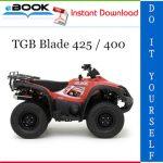 TGB Blade 425 / 400 ATV Service Repair Manual