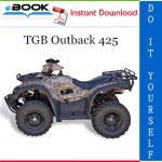 TGB Outback 425 ATV Service Repair Manual
