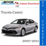 Toyota Camry Service Repair Manual