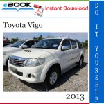 2013 Toyota Vigo Service Repair Manual