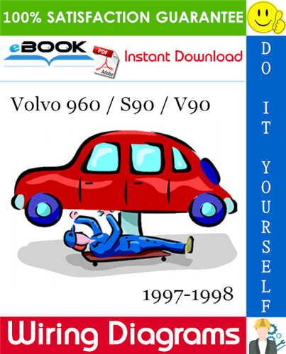 Volvo 960    S90    V90 Wiring Diagrams 1997