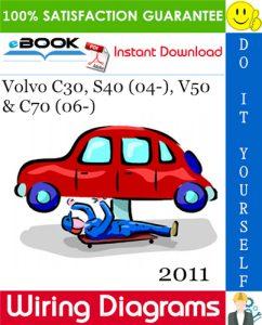 2011 Volvo C30, S40 (04-), V50 & C70 (06-) Wiring Diagrams
