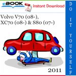 2011 Volvo V70 (08-), XC70 (08-) & S80 (07-) Wiring Diagram