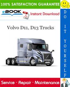 Volvo D11, D13 Trucks Service Repair Manual