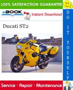 Ducati ST2 Motorcycle Service Repair Manual