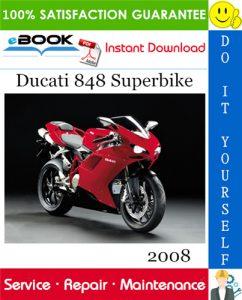 2008 Ducati 848 Superbike Service Repair Manual