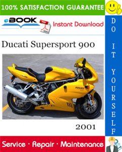 2001 Ducati Supersport 900 Motorcycle Service Repair Manual
