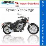 Kymco Venox 250 Motorcycle Service Repair Manual