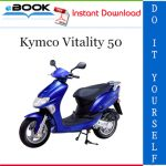 Kymco Vitality 50 Scooter Service Repair Manual