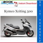 Kymco Xciting 500 Scooter Service Repair Manual