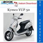 Kymco YUP 50 Scooter Service Repair Manual