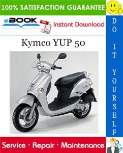Kymco YUP 50 Scooter Service Repair Manual