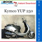 Kymco YUP 250 Scooter Service Repair Manual