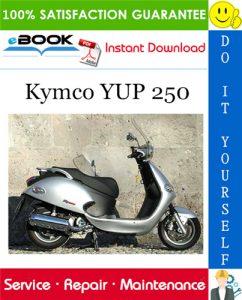 Kymco YUP 250 Scooter Service Repair Manual