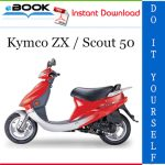 Kymco ZX / Scout 50 Scooter Service Repair Manual