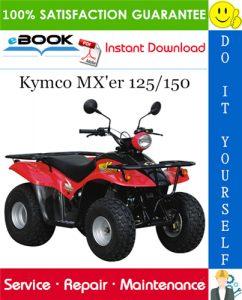 Kymco MX'er 125/150 ATV Service Repair Manual