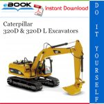 Caterpillar 320D & 320D L Excavators Parts Manual