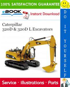 Caterpillar 320D & 320D L Excavators Parts Manual