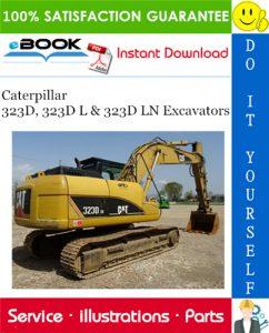 Caterpillar 323D, 323D L & 323D LN Excavators Parts Manual