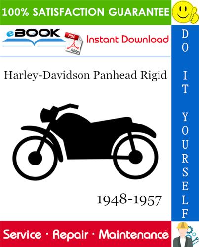 Harley-Davidson Panhead Rigid Motorcycle Service Repair ...