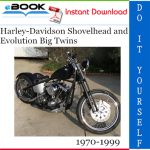 Harley-Davidson Shovelhead and Evolution Big Twins Motorcycle Service Repair Manual