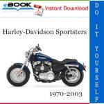 Harley-Davidson Sportsters Motorcycle Service Repair Manual