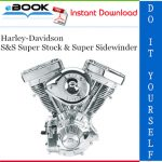 Harley-Davidson S&S Super Stock & Super Sidewinder Service Repair Manual